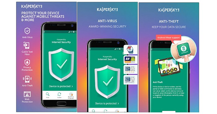Kaspersky Antivirus App for Android